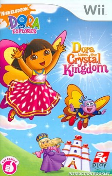 Dora saves the Crystal Kingdom [Wii] cover image