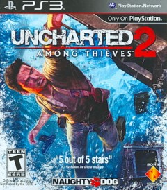 Uncharted 2 . Among thieves [PS3] cover image
