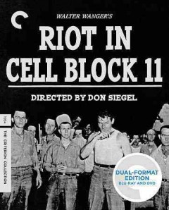 Riot in Cell Block 11 [Blu-ray + DVD combo] cover image