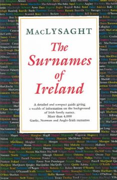 The surnames of Ireland cover image