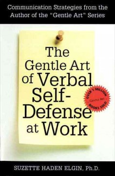 The gentle art of verbal self-defense at work cover image