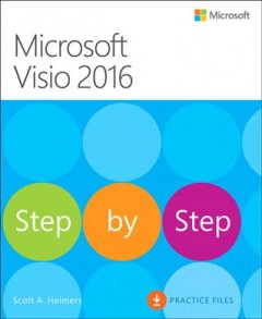 Microsoft Visio 2016 step by step cover image