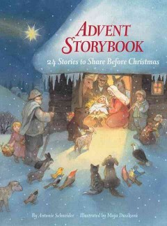 Advent storybook cover image