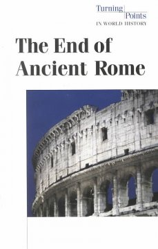 The end of ancient Rome cover image