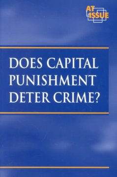 Does capital punishment deter crime? cover image