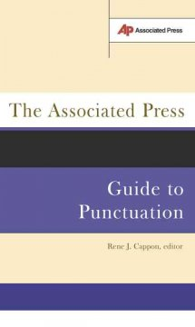 The Associated Press guide to punctuation cover image
