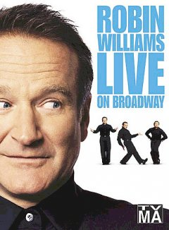 Robin Williams live on broadway cover image