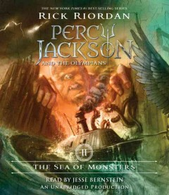 The sea of monsters cover image