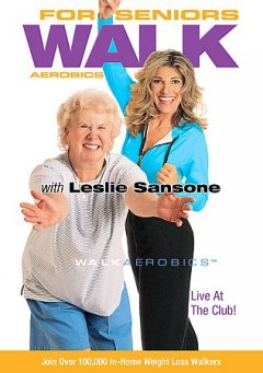 Walk aerobics for seniors with Leslie Sansone cover image