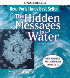 The hidden messages in water cover image