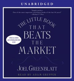 The little book that beats the market cover image