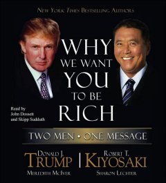Why we want you to be rich cover image