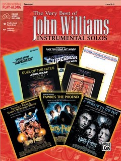 The very best of John Williams instrumental solos : [trumpet] cover image