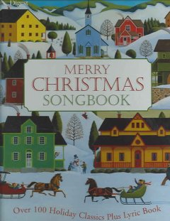 Merry Christmas songbook cover image