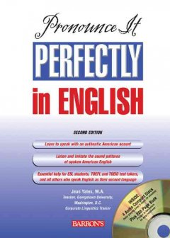 Pronounce it perfectly in English cover image