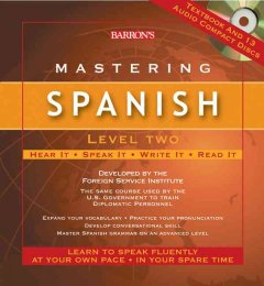 Mastering Spanish. Level 2 cover image