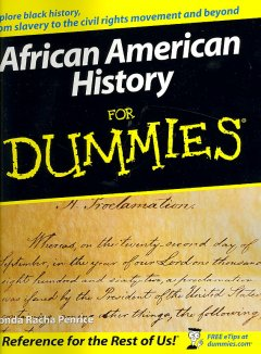 African American history for dummies cover image