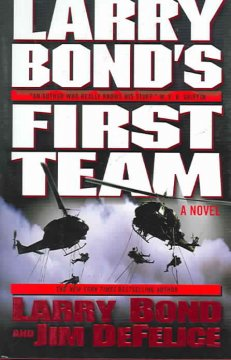 Larry Bond's First team cover image