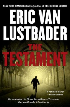 The testament cover image