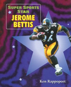 Super sports star Jerome Bettis cover image