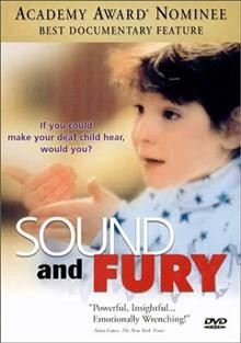 Sound and fury cover image