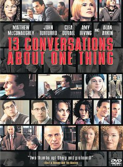 Thirteen conversations about one thing cover image