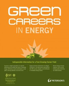 Green careers in energy cover image