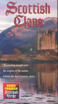 Scottish clans Scottish verse cover image