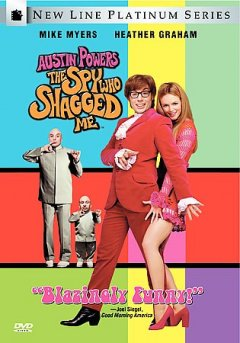 Austin Powers the spy who shagged me cover image