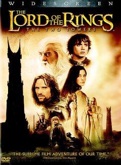 The lord of the rings, the two towers cover image