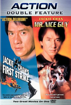 Jackie Chan's first strike Mr. nice guy cover image