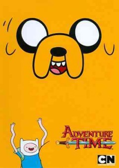 Adventure time. It came from the nightosphere cover image