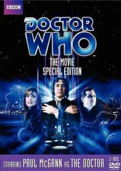 Doctor Who. The movie cover image