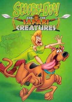 Scooby Doo and the safari creatures cover image