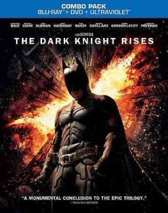The dark knight rises [Blu-ray + DVD combo] cover image