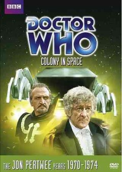Doctor Who. Story 58, Colony in space cover image