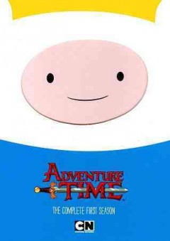 Adventure time. The complete first season cover image
