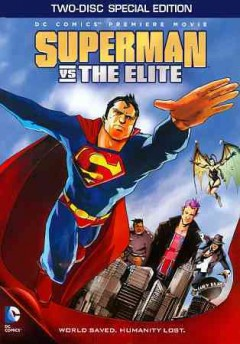 Superman vs the Elite cover image
