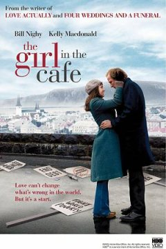 The girl in the café cover image