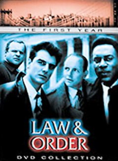 Law & order. Season 1 cover image
