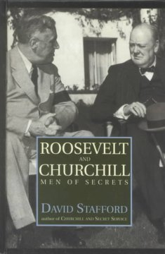 Roosevelt and Churchill men of secrets cover image