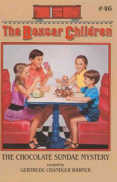 The chocolate sundae mystery cover image