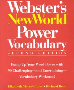 Webster's New World power vocabulary cover image