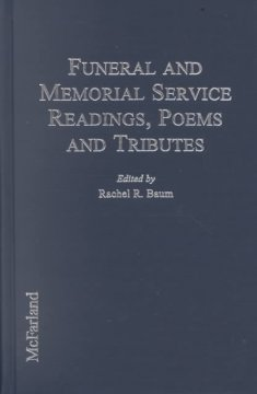 Funeral and memorial service readings, poems, and tributes cover image