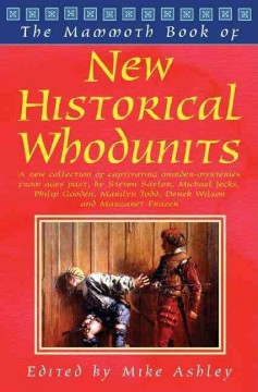 The mammoth book of new historical whodunits cover image