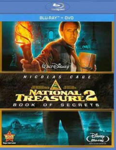 National treasure 2. Book of secrets [Blu-ray + DVD combo] cover image