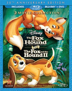 Fox and the hound [Blu-ray + DVD combo] and the fox and the hound II cover image