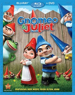 Gnomeo & Juliet [Blu-ray + DVD combo] cover image