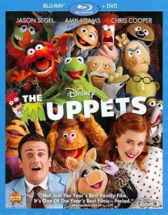 The muppets [Blu-ray + DVD combo] cover image