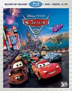 Cars 2 [3D Blu-ray + Blu-ray + DVD combo] cover image
